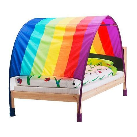 kid bed tent ikea murmel rainbow children s bed canopy tent bnip