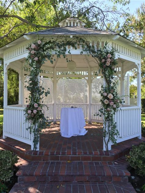 gazebo decorations best 25 wedding gazebo ideas on gazebo
