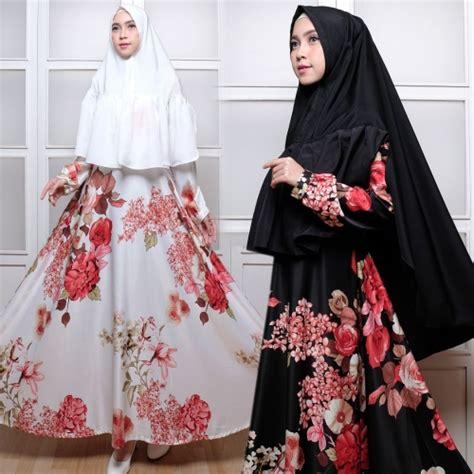 Ukuran Bsr baju grosir wanita busana muslim gamis gamis bst bunga