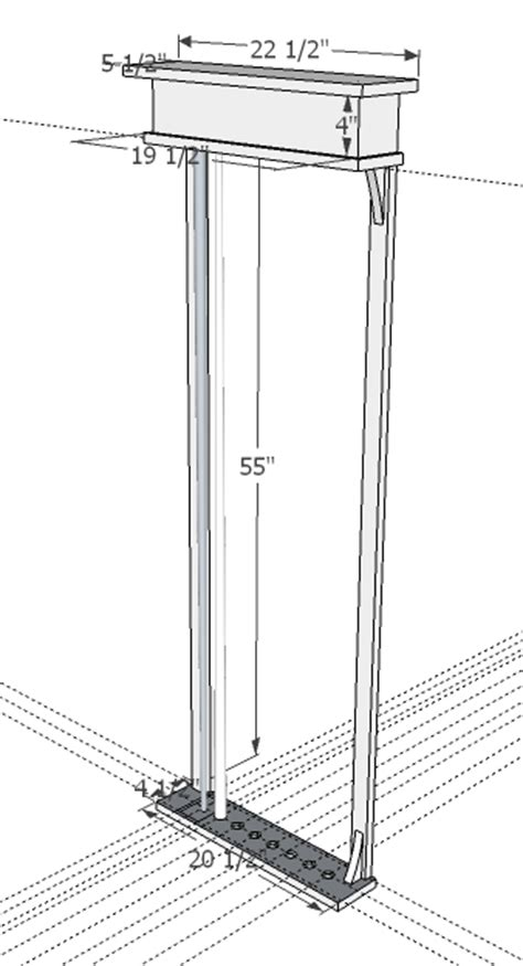 Pool Rack Dimensions by Pool Cue Rack 1 Drawing Buying Wood Some Dimensioning