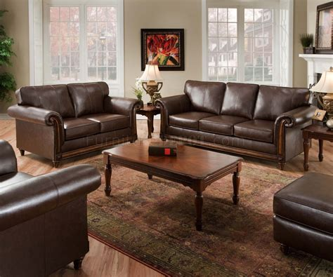 coffee soft bonded leather sofa loveseat set w options