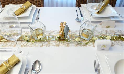 Tischdekoration F R Hochzeit by Mustertische Zur Goldenen Hochzeit Bei Tischdeko