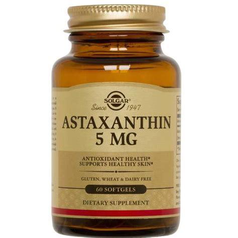 Astaxanthin Detox by Solgar Astaxanthin 5 Mg 60 Softgels Evitamins