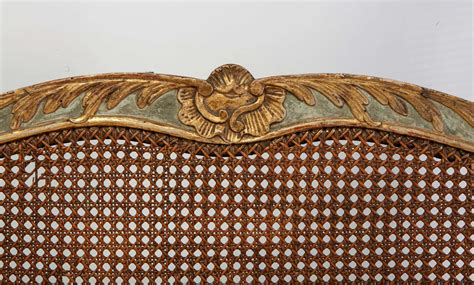 Canape Baroque 307 by A Italian 18th C Parcel Gilt And Painted Canape For