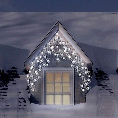 180 warm white snowing outdoor icicle led christmas lights
