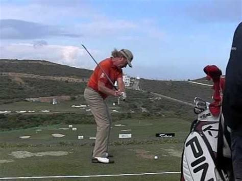 miguel angel jimenez golf swing miguel angel jimenez golf swing down the line high