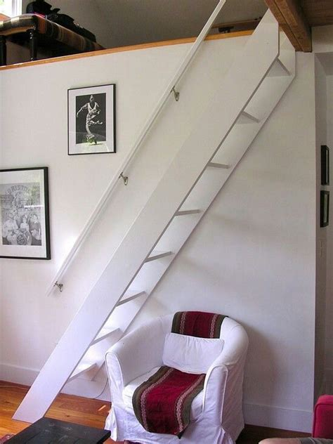loft steps small attic spaces lofts stairs pinterest