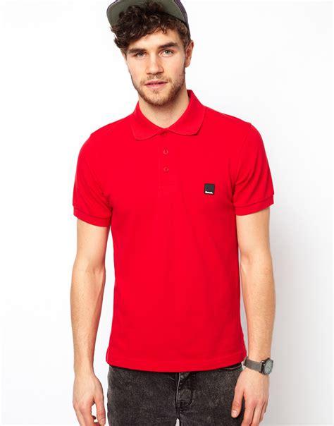 Polo Shirt Cokelat 1 lyst bench polo shirt in for