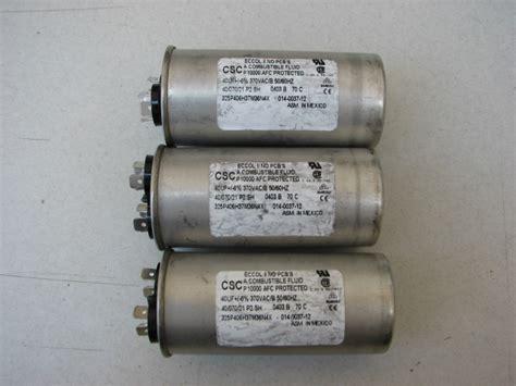 csc capacitors csc 325p406h37m36n4x 40uf 6 370vac b capacitor 1