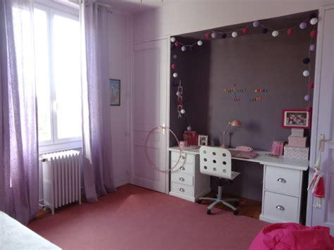 peinture chambre fille violet peinture chambre mauve et blanc chambre fille et