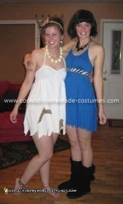 diy betty rubble costume diy wilma and betty costumes diy do it your self