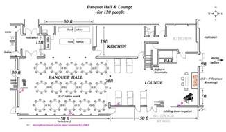 Banquet Hall Floor Plans by Scandinavian Community Centre Facilities Rental