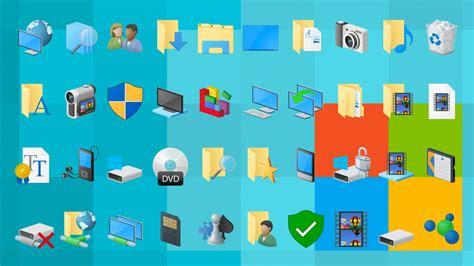 icon design windows 10 7tsp windows 10 original system icon pack
