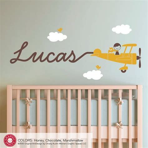 Airplane Wall Decals For Nursery 17 Best Images About Airplane Nursery On Pinterest My Boys Boys And Planes