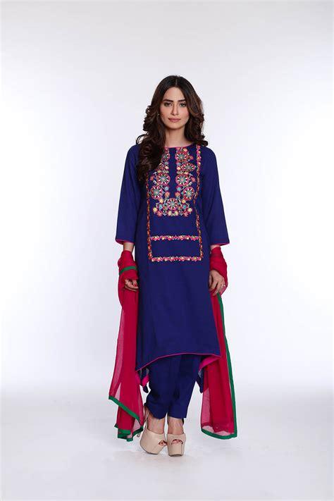 rang ja latest colorful kurti dresses   eid collection