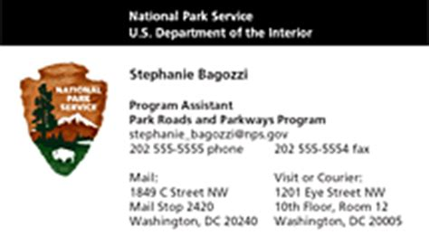 Nps Business Card Template by Business Cards