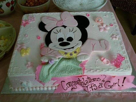 Minnie Mouse Baby Shower Cake by Baby Minnie Mouse Baby Shower Cake Yelp