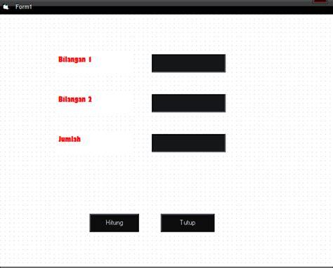 coding visual basic kalkulator membuat program kalkulator sederhana menggunakan visual