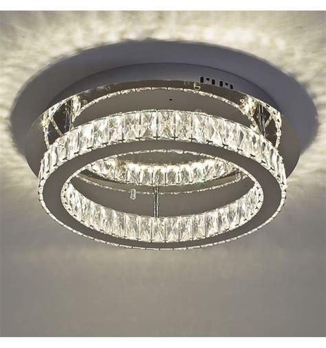 deckenleuchte kristall deckenleuchte led kristall kreis design 248 45 cm diez