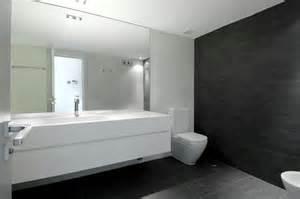 Cuarto de ba 241 o moderno con azulejos de pizarra moda y hogar