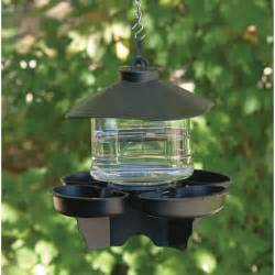 bird waterers for providing drinking water to backyard