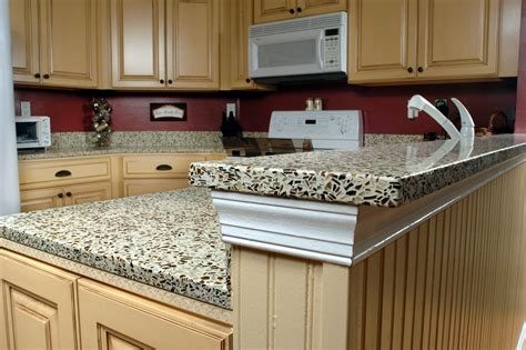 recycled kitchen countertops how to using recycled glass aggregates directcolors com