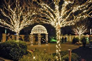 pinellas holiday lights in the gardens florida