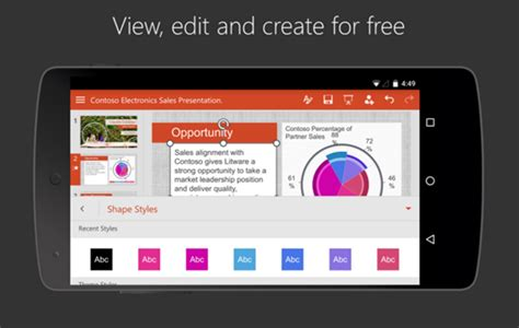 How To Open A Powerpoint Presentation On Android Powerpoint App