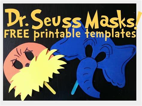 printable lorax mask 7 best images of printable lorax crafts free printable