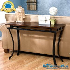 Espresso Sofa Table Vivian Sofa Table Entry Foyer Modern Espresso Top Hall
