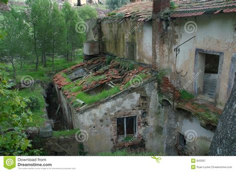 Italian House Plans Old Tuscan Villa Royalty Free Stock Photography Image