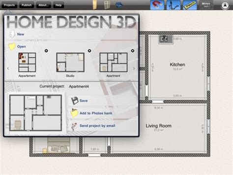 home design in ipad home design 3d by livecad for ipad download home
