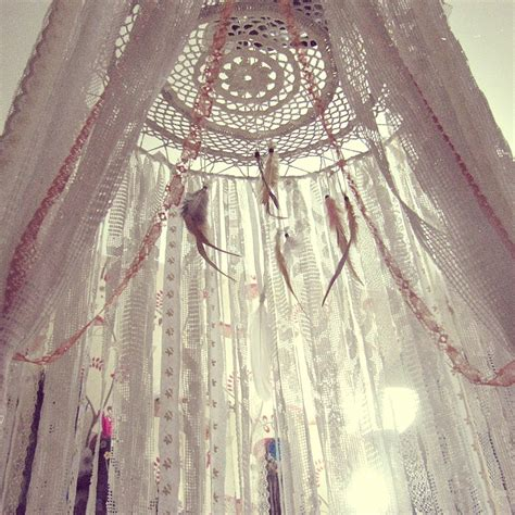 Bohemian Bed Canopy Boho Bed Crown Baby Crib Canopy Nursery Decor