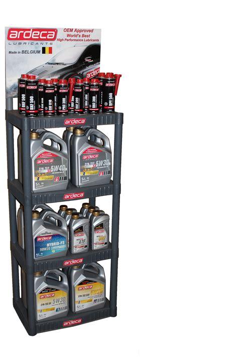 merchandise display promotional merchandise ardeca lubricants usa