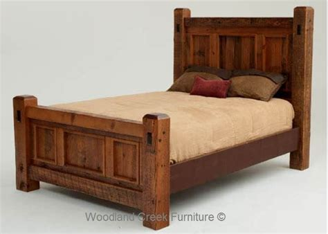 Handcrafted Bed Frames - 37 best barn wood headboard and bed frames images on