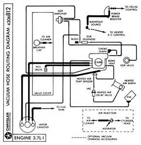 1978 dodge ram slant 6 need vacuum hose diagram thanks joey c
