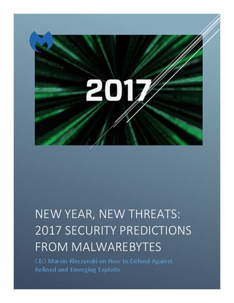 new year 2017 predictions 2017 security predictions from malwarebytes new year new