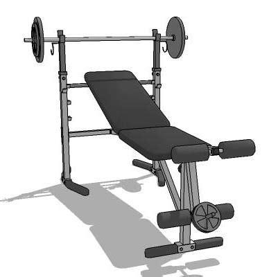 modells weight bench weight bench 3d model formfonts 3d models textures