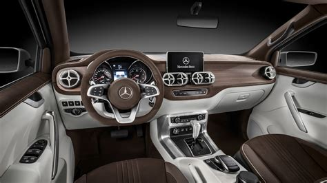 mercedes pickup 2017 2017 mercedes benz x class pickup truck interior wallpaper