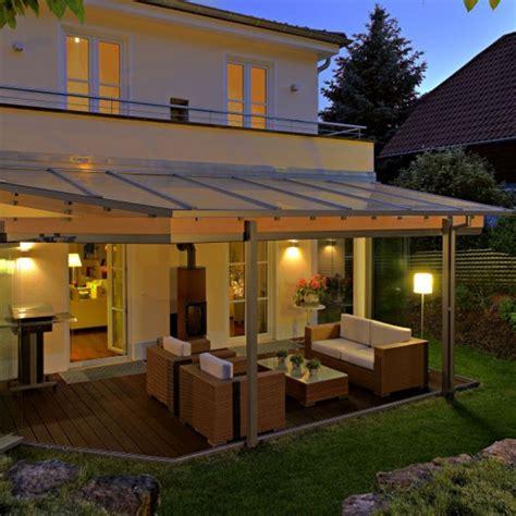 veranda glasdach gesch 252 tzte terrasse dank glasdach und verglasung bei