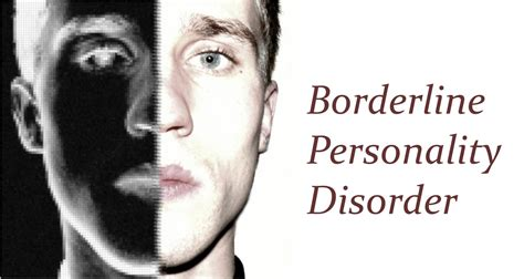 borderline personality disorder personality disorder