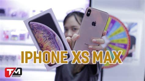 đập hộp iphone xs max 79 triệu đầu ti 234 n tại việt nam