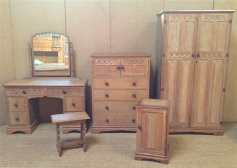 oak bedroom suites a good 1930 s limed oak bedroom suite 274686