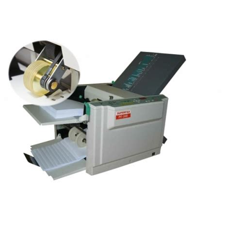 Paper Folding Machine Reviews - paper handling equipment superfax pf 340 a4 paper folder
