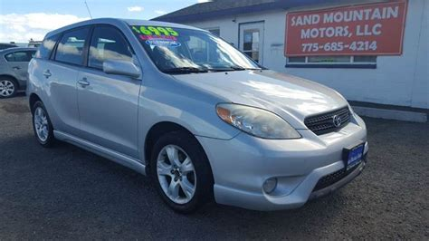 2005 Toyota Matrix Type 2005 Toyota Matrix Xr 4dr Wagon In Fallon Nv Sand