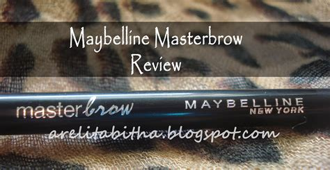 Maybelline Di Guardian product review maybelline masterbrow