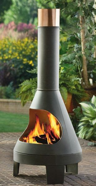Modern Cast Iron Chiminea by Modern Chimineas A New Patio Decor Idea Chimineacharm