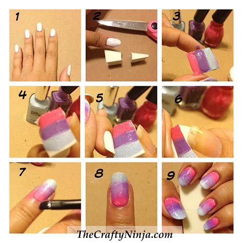 Nail Tutorial by How To Do Ombre Nails Tutorial Www Imgkid The