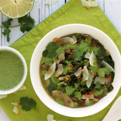 Gwenth Detox Green Soup by Thai Green Soup For Detox By Wellness