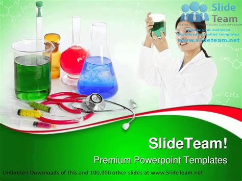 template ppt laboratory free chemical research laboratory medical powerpoint templates